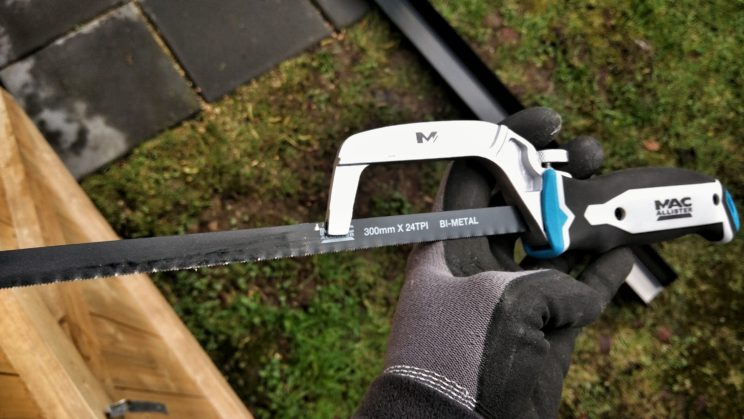 Mac Allister mini hacksaw